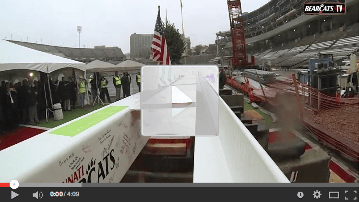 Nippert Top Off Video