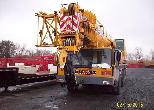 Pre Owned Liebherr LTM1160/2
