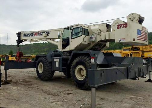 unit 2773 Terex RT175