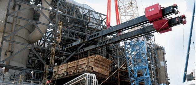 counter-balance crane beams
