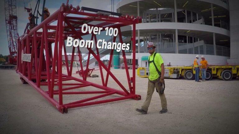 Maxim Crane at Sunlife Stadium