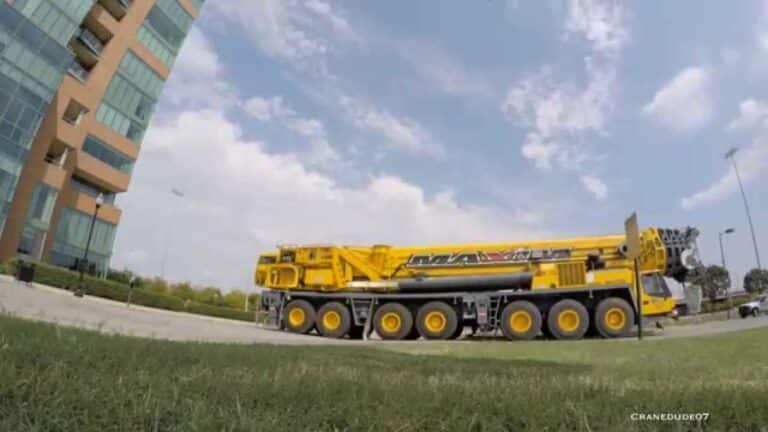 Maxim Crane's Grove GMK 7550 Sets A/C Units