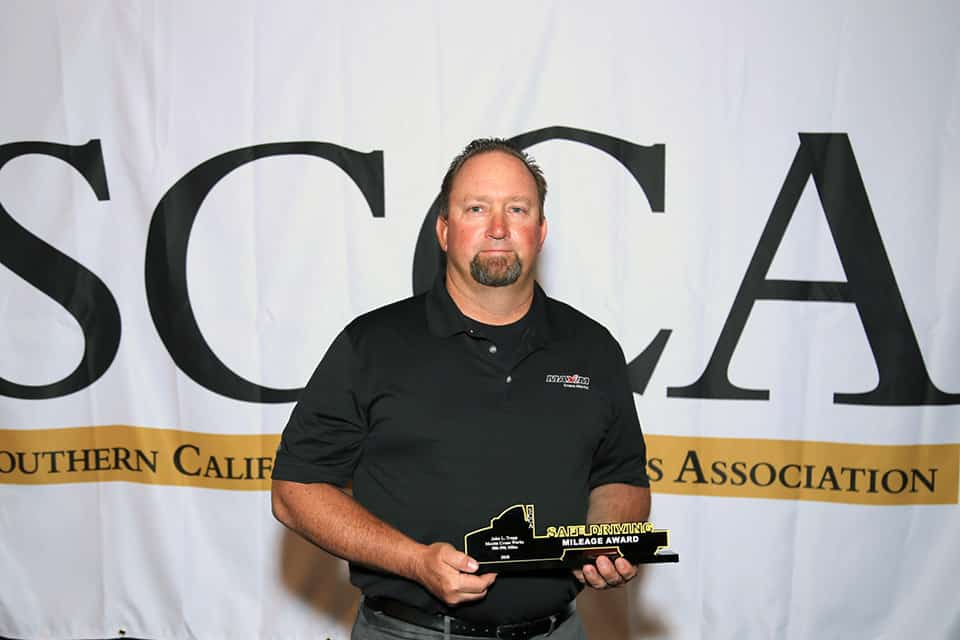 2020 Safety Awards from SCCA
