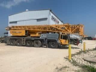 225 ton Liebherr All Terrain Crane R Side
