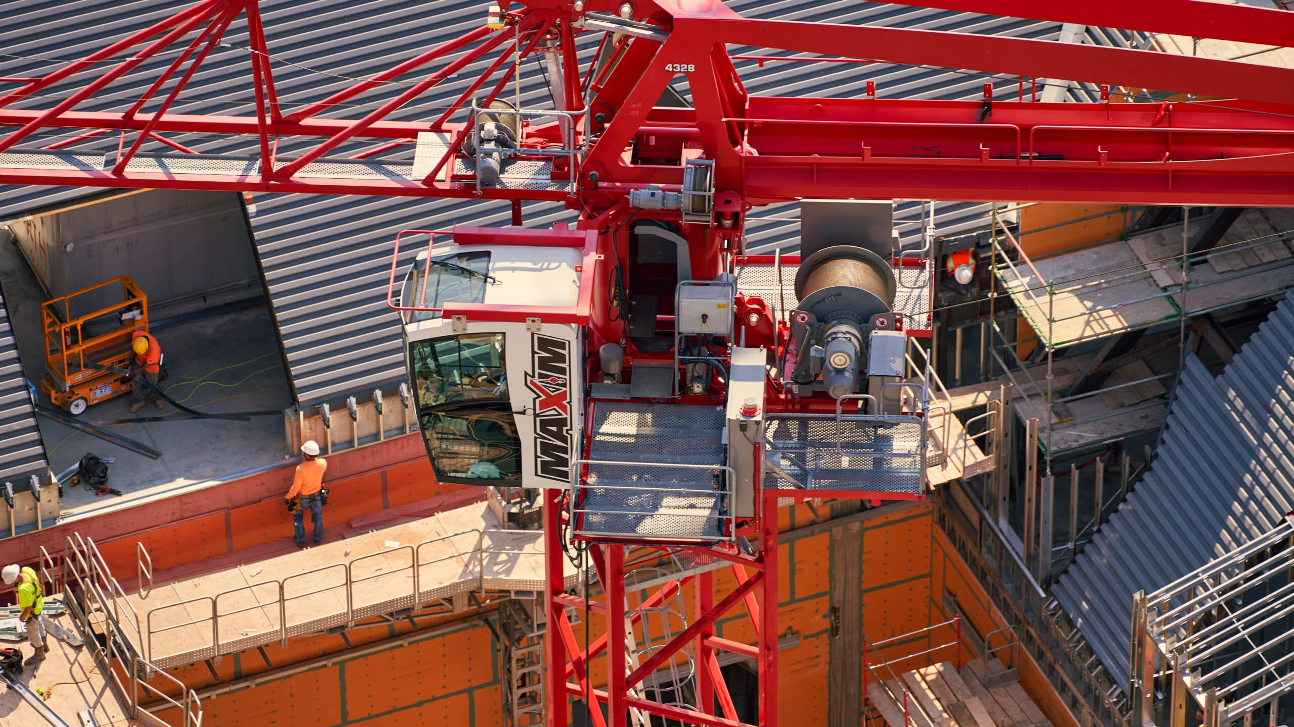 Tower Crane Rental Nashville, TN