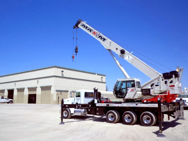 Maxim Crane Boom Truck